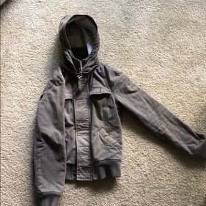 TNA/Aritzia detachable hood winter jacket